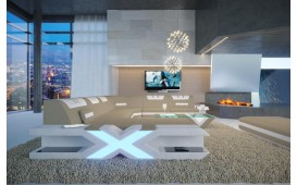 Divano di design MYSTIQUE XXL con illuminazione a LED e presa USB