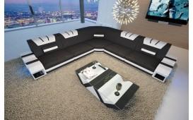 Canapé Design MYSTIQUE CORNER avec éclairage LED et port USB