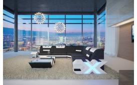 Designer Sofa MYSTIQUE CORNER mit LED Beleuchtung & USB Anschluss von NATIVO Möbel Schweiz