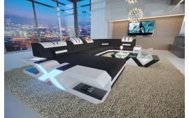 Designer Sofa MYSTIQUE XL mit LED Beleuchtung & USB Anschluss von NATIVO Möbel Schweiz