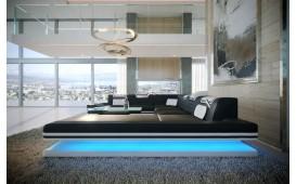 Divano di design ROUGE XXL con illuminazione a LED e presa USB
