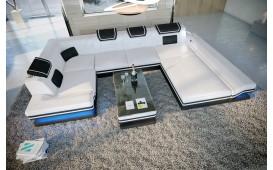 Divano di design ROUGE XL con illuminazione a LED e presa USB