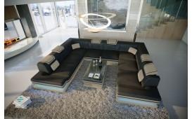 Designer Sofa ROUGE CORNER U FORM mit LED Beleuchtung & USB Anschluss von NATIVO Möbel Schweiz