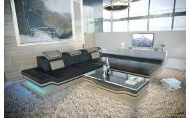 Designer Sofa ROUGE MINI mit LED Beleuchtung & USB Anschluss