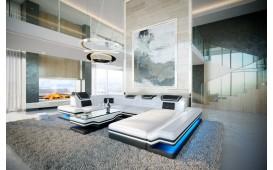 Canapé Design ROUGE XL avec éclairage LED & port USB von NATIVO™ meubles France