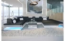Designer Sofa ROUGE XXL mit LED Beleuchtung & USB Anschluss