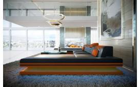 Divano di design ROUGE XXL DUO con illuminazione a LED e presa USB