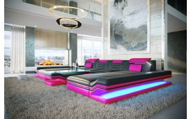 Designer Sofa ROUGE XXL DUO mit LED Beleuchtung & USB Anschluss von NATIVO Möbel Schweiz