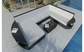 Designer Rattan Lounge Sofa ATLANTIS XXL v1