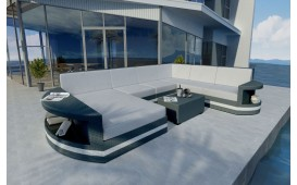 Canapé Lounge en rotin ATLANTIS XXL