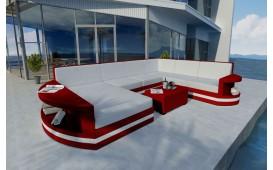 Divano Lounge ATLANTIS XXL v2 in rattan von NATIVO™ Möbel Schweiz