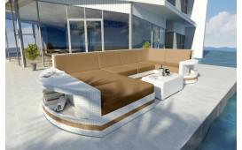 Divano Lounge ATLANTIS XL v2 in rattan NATIVO™ Möbel Schweiz