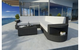 Designer Rattan Lounge Sofa ATLANTIS CORNER v1