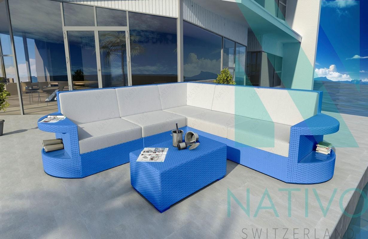 Rattan Sofa Lounge Modular ATLANTIS CORNER v1 von NATIVO Möbel