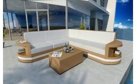 Canapé Lounge en rotin ATLANTIS CORNER