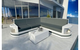 Designer Rattan Lounge Sofa ATLANTIS CORNER v2 NATIVO™ Möbel Schweiz