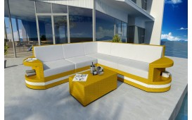 Designer Rattan Lounge Sofa ATLANTIS CORNER v2