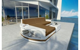 Divano Lounge ATLANTIS MINI in rattan