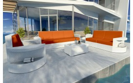 Rattan Lounge Set ATLANTIS 3+2+1 v1 NATIVO™ Möbel Schweiz