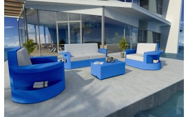 Rattan Lounge Set ATLANTIS 2+1+1 v1 NATIVO™ Möbel Schweiz