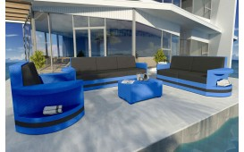 Set Lounge ATLANTIS 3+2+1 v2 in rattan