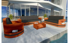 Lounge Set en rotin ATLANTIS 3+2+1 v2