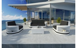 Rattan Lounge Set ATLANTIS 2+1+1 v2 NATIVO™ Möbel Schweiz