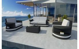 Set Lounge ATLANTIS 2+1+1 v2 in rattan NATIVO™ Möbel Schweiz