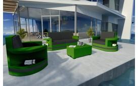 Rattan Lounge Set ATLANTIS 2+1+1 v2 NATIVO™ Möbel Schweiz