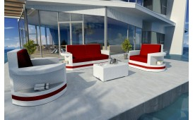 Rattan Lounge Set ATLANTIS 2+1+1 v2