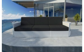 Rattan Lounge Sofa ATLANTIS 3 Sitzer v1