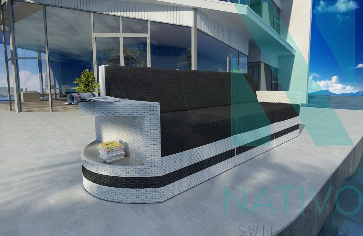 rattan lounge sofa atlantis 3 sitzer v2 in rattan von nativo m bel. Black Bedroom Furniture Sets. Home Design Ideas