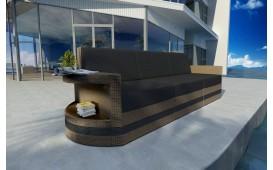 Rattan Lounge Sofa ATLANTIS 3 Sitzer v2 NATIVO™ Möbel Schweiz