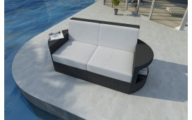 Rattan Lounge Sofa ATLANTIS 2 Sitzer v1