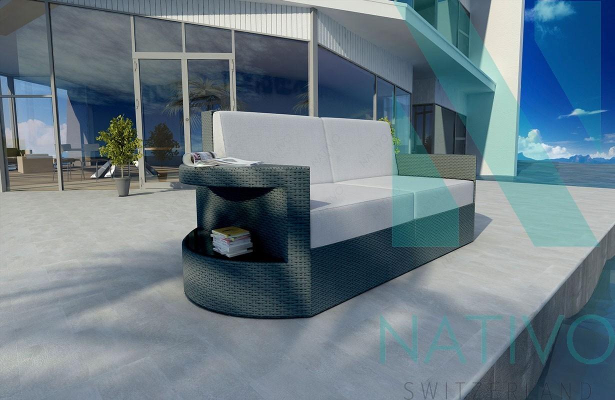 rattan lounge sofa atlantis 2 sitzer v1 in rattan von nativo m bel. Black Bedroom Furniture Sets. Home Design Ideas