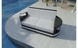 Rattan Lounge Sofa ATLANTIS 2 Sitzer v2 NATIVO™ Möbel Schweiz