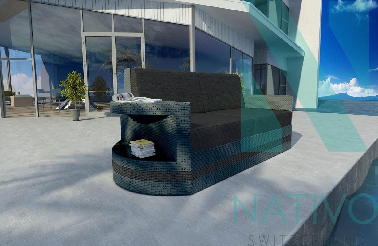rattan lounge sofa atlantis 2 sitzer v2 in rattan von nativo m bel. Black Bedroom Furniture Sets. Home Design Ideas
