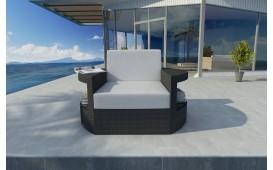 Rattan Lounge Sofa ATLANTIS 1 Sitzer v1