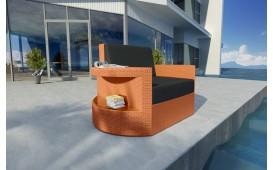 Rattan Lounge Sofa ATLANTIS 1 Sitzer v1 NATIVO™ Möbel Schweiz