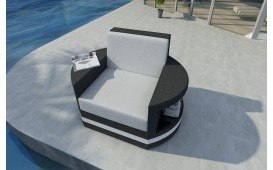 Poltrona Lounge ATLANTIS v2 in rattan NATIVO™ Möbel Schweiz