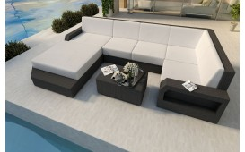 Designer Rattan Lounge Sofa MESIA XL v1