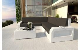 Designer Rattan Lounge Sofa MESIA CORNER v1 von NATIVO Möbel Schweiz