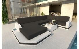 Designer Rattan Lounge Sofa MESIA XXL