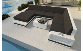Designer Rattan Lounge Sofa MESIA XXL v2 von NATIVO Möbel Schweiz