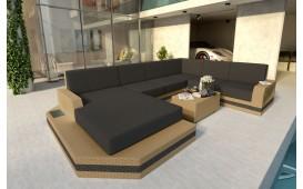 Divano Lounge MESIA XXL v2 in rattan