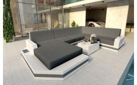 Designer Rattan Lounge Sofa MESIA XXL v2