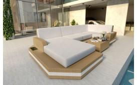 Designer Rattan Lounge Sofa MESIA XL v2