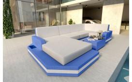 Designer Rattan Lounge Sofa MESIA XL v2 von NATIVO Möbel Schweiz