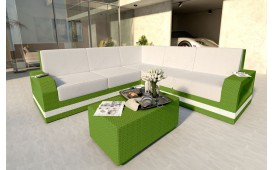 Designer Rattan Lounge Sofa MESIA CORNER v2