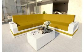 Designer Rattan Lounge Sofa MESIA CORNER v2 von NATIVO Möbel Schweiz